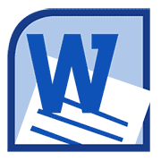 Word 2010 icon